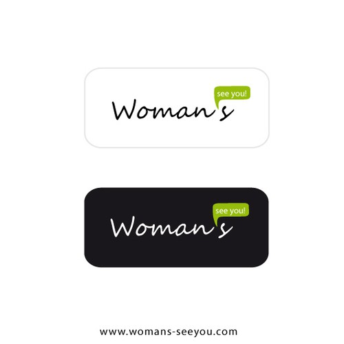 logo and business card for Please find a catchy and memorable name that is also available as a web domain