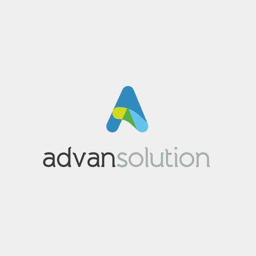 AdvanSolution Logo Design