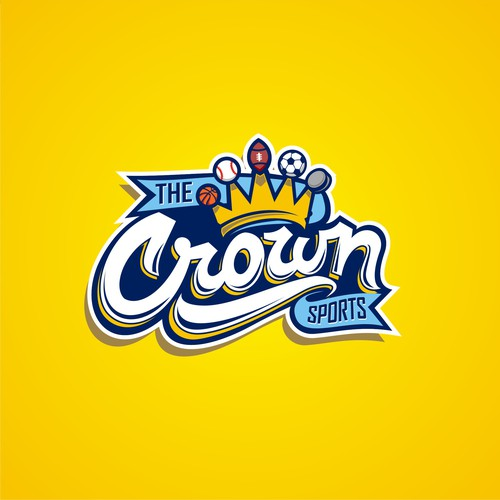 logo for the crown sports