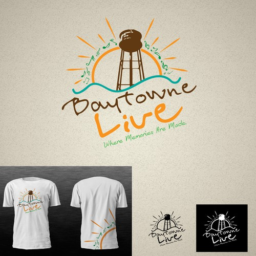 Help Baytowne Live with a new logo