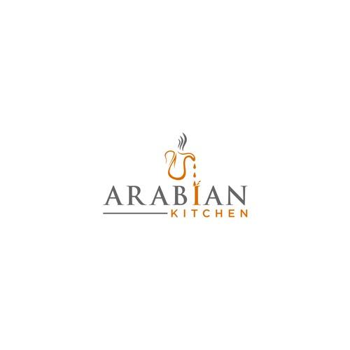 Logo design for Arabian Kitchen Catering Company