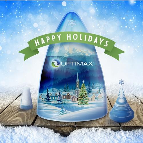 Optimax Winter Wonderland Holiday Card