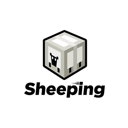 Design a logo for a shipping company called Sheeping