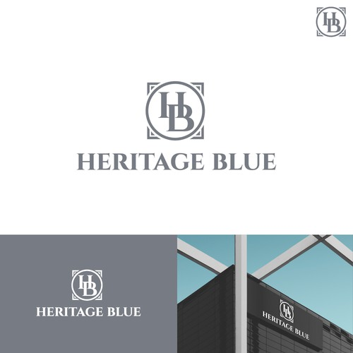 Logo for Heritage Blue