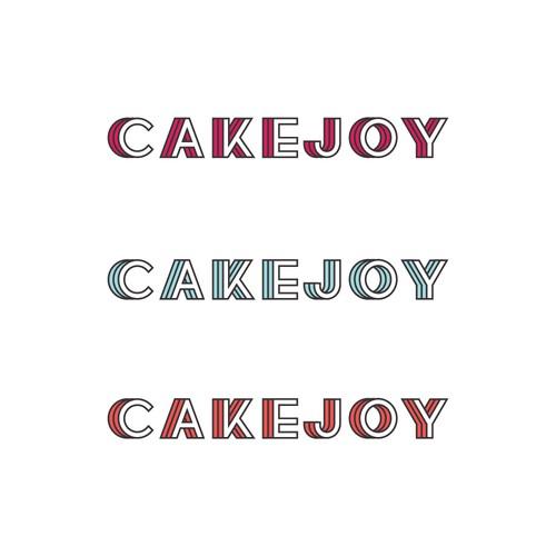 Fun & colorful logo for cake kit company