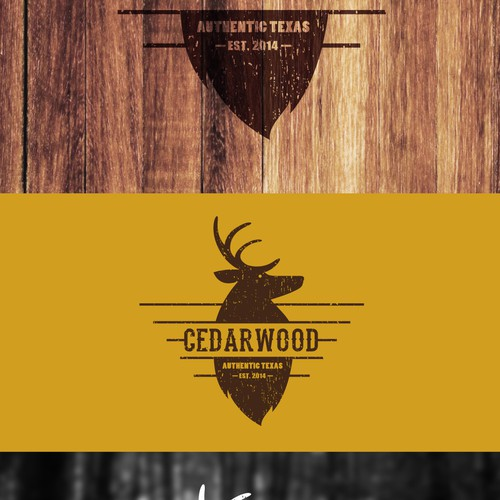 Capture the feel of a log cabin in Texas, deep within a woods filled with Cedar Trees