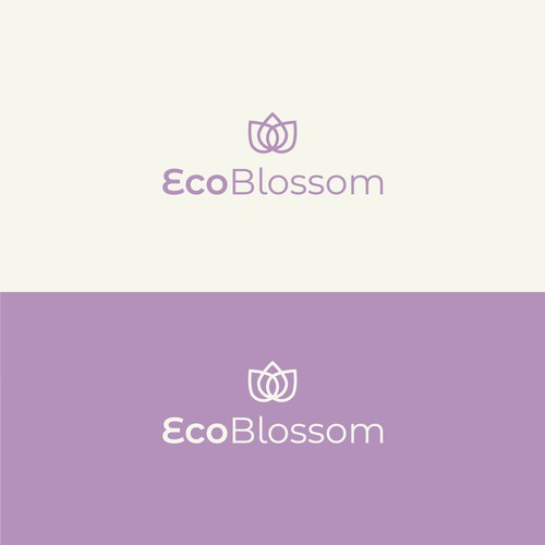 Logo design for Eco Blossom - Mestrual Cup