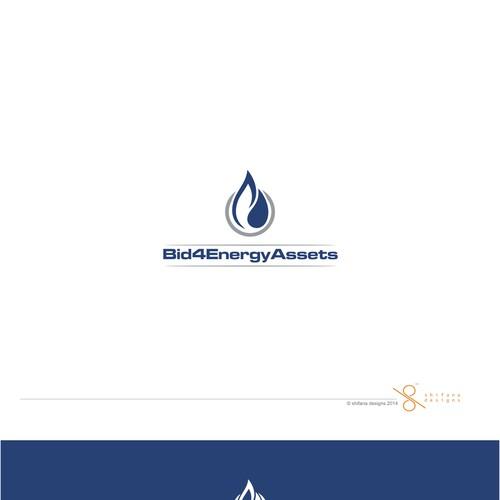 Design a descriptive logo for an online energy assets auction house