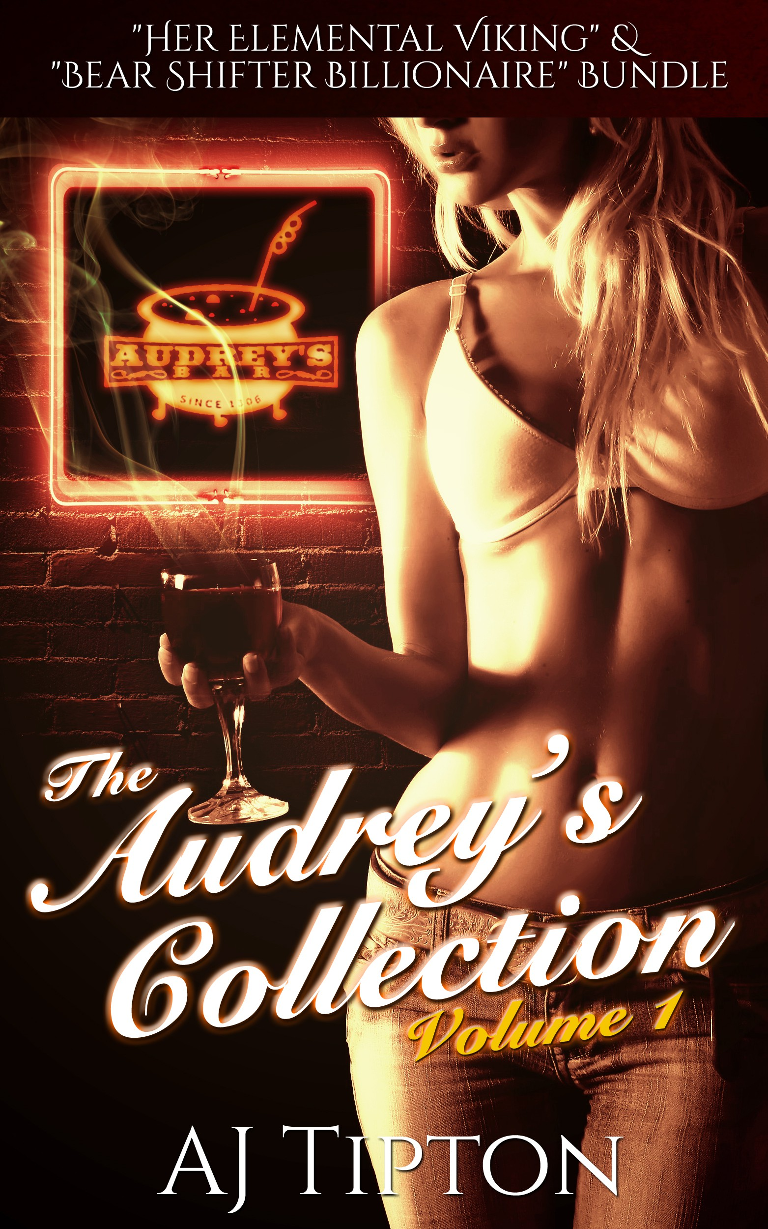 "Ebook & Createspace Cover for ""The Audrey's Collection"""