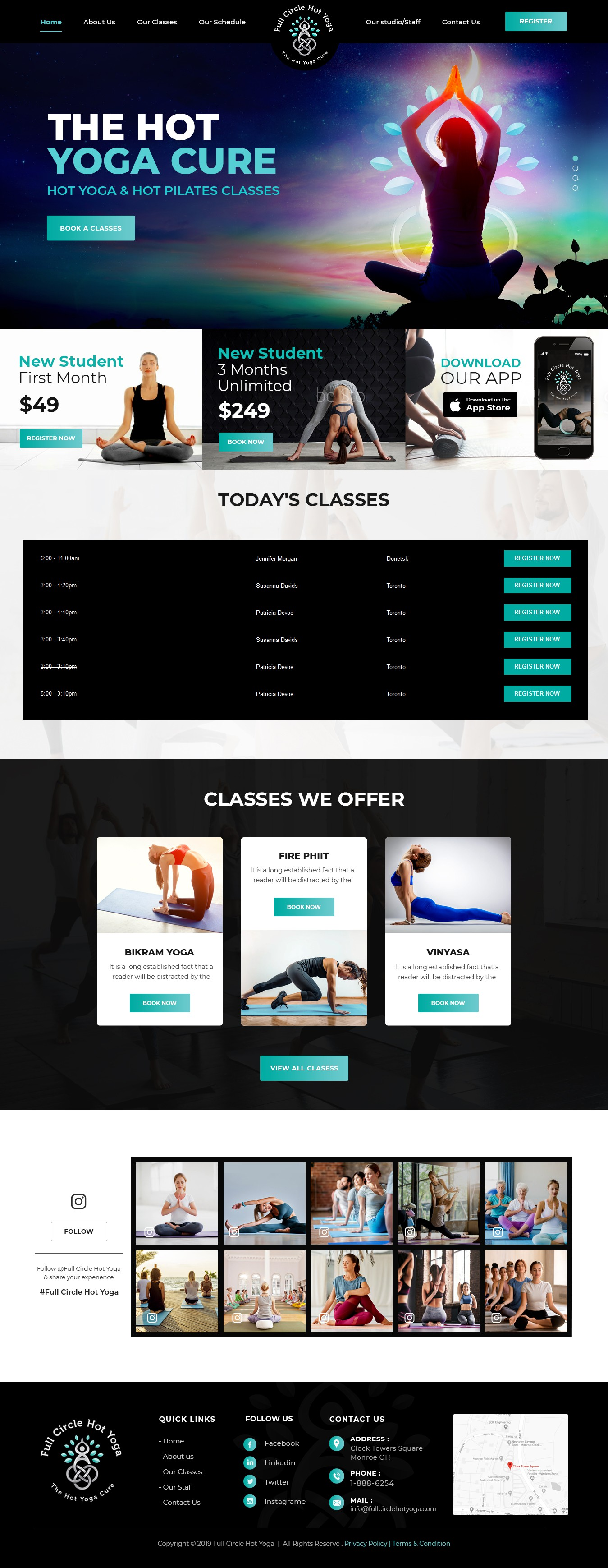 HOT YOGA NEEDS A HOT WEBSITE