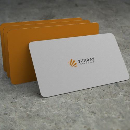 Sunray Logo for modern mortgage company
