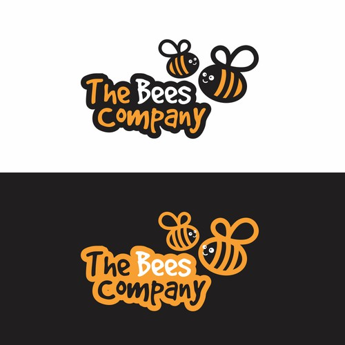 Logo concept for The Bees Company