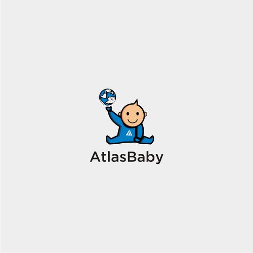logo concept forAtlas Baby