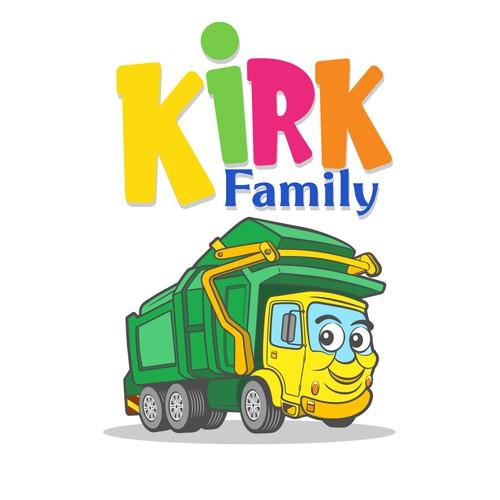 Kirk Family Garbage Truck