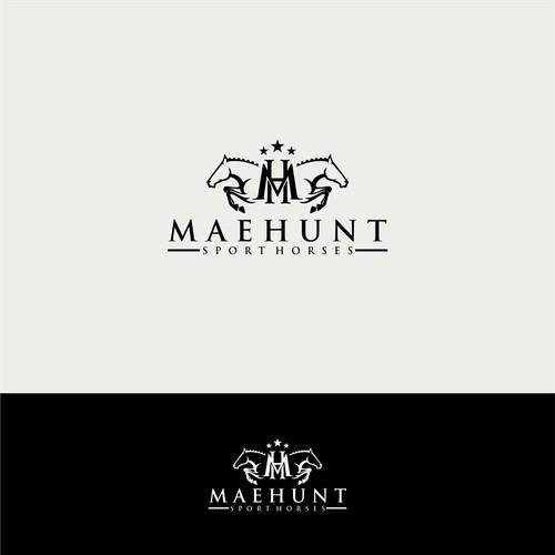 Horse logo for MaeHunt