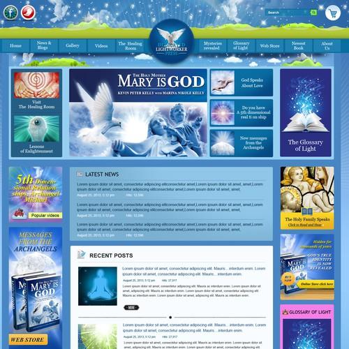 Create the next website design for Dedicated Lightworker Press