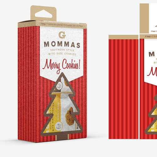 Holiday product packaging
