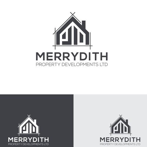 Merrydith Property Logo Concept