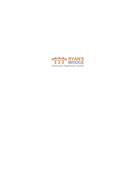 Non-Profit for Adults w/ Intellectual Disabilities Needs Logo - Ryan's Bridge