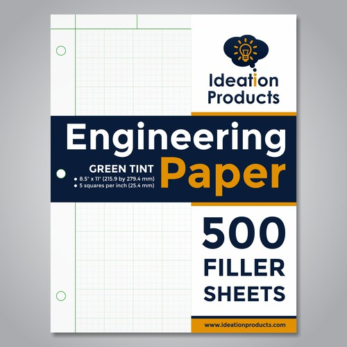 Cover Sheet Design for Printed Graph Paper