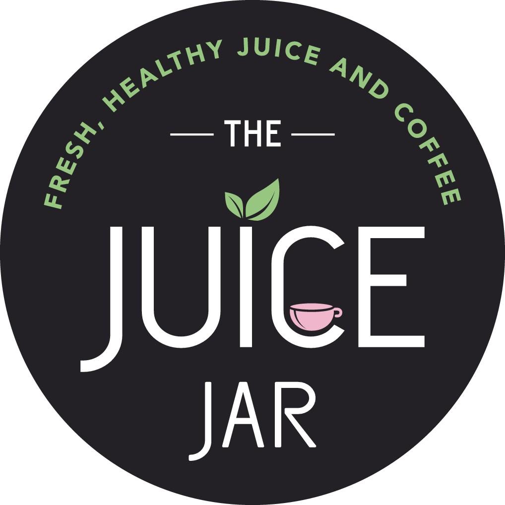 Design a modern logo for THE JUICE JAR.