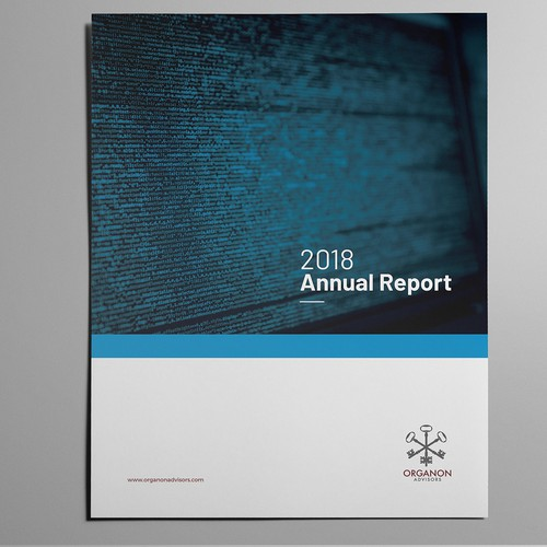 Annual Report Template in Microsoft Word