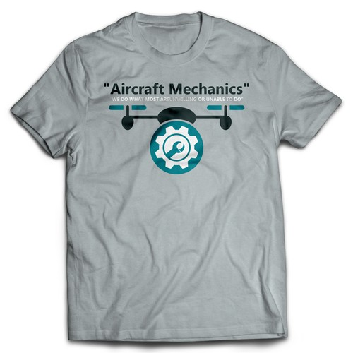 Aviation Maintenance Professional Shirt Design