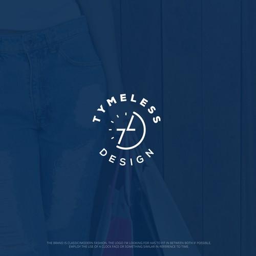 """Logo for """"TymeLess Design"""""""