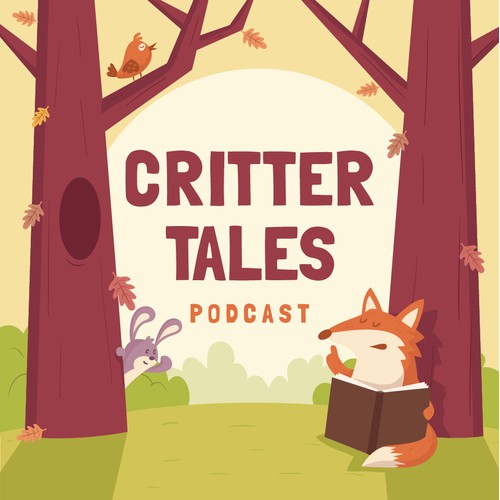 Critter  Tales podcast design