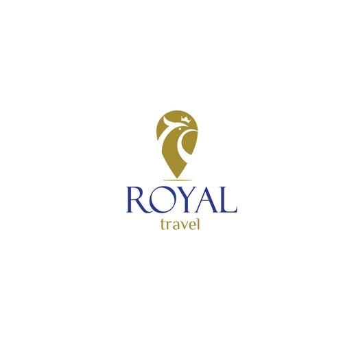 light logo to Royal Travel