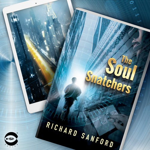 "Book cover for ""The Soul Snatchers"" by Richard Sanford"