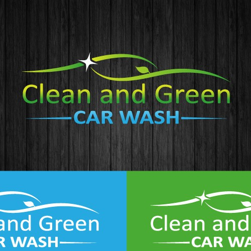 New logo wanted for Clean and Green Car Wash