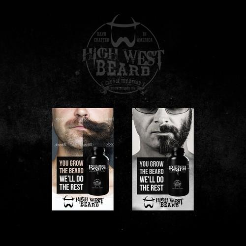 High West Beard Banners