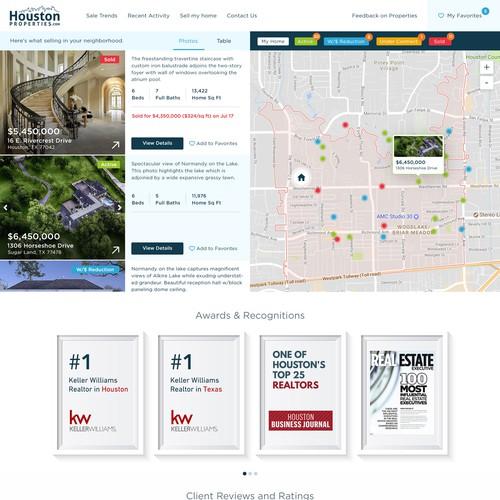 Redesign for Keller Williams Real Estate Agent