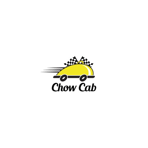 Logo for fast food delivery