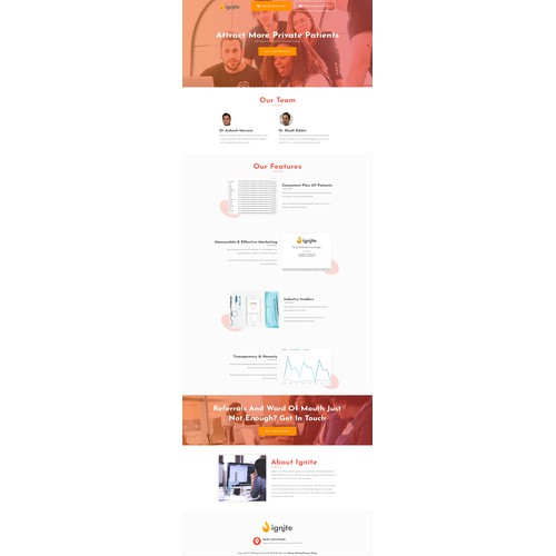 Fresh, new website for growing healthcare marketing agency