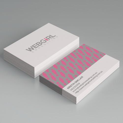 Webgirl Consulting branding