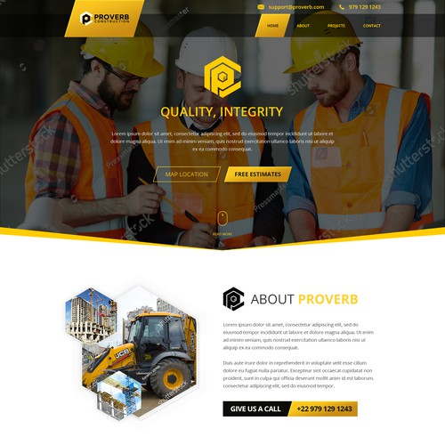 Proverb Construction Website