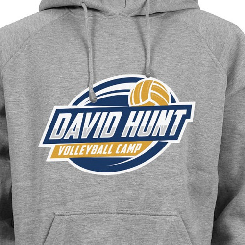 logo for david hunt volleyball