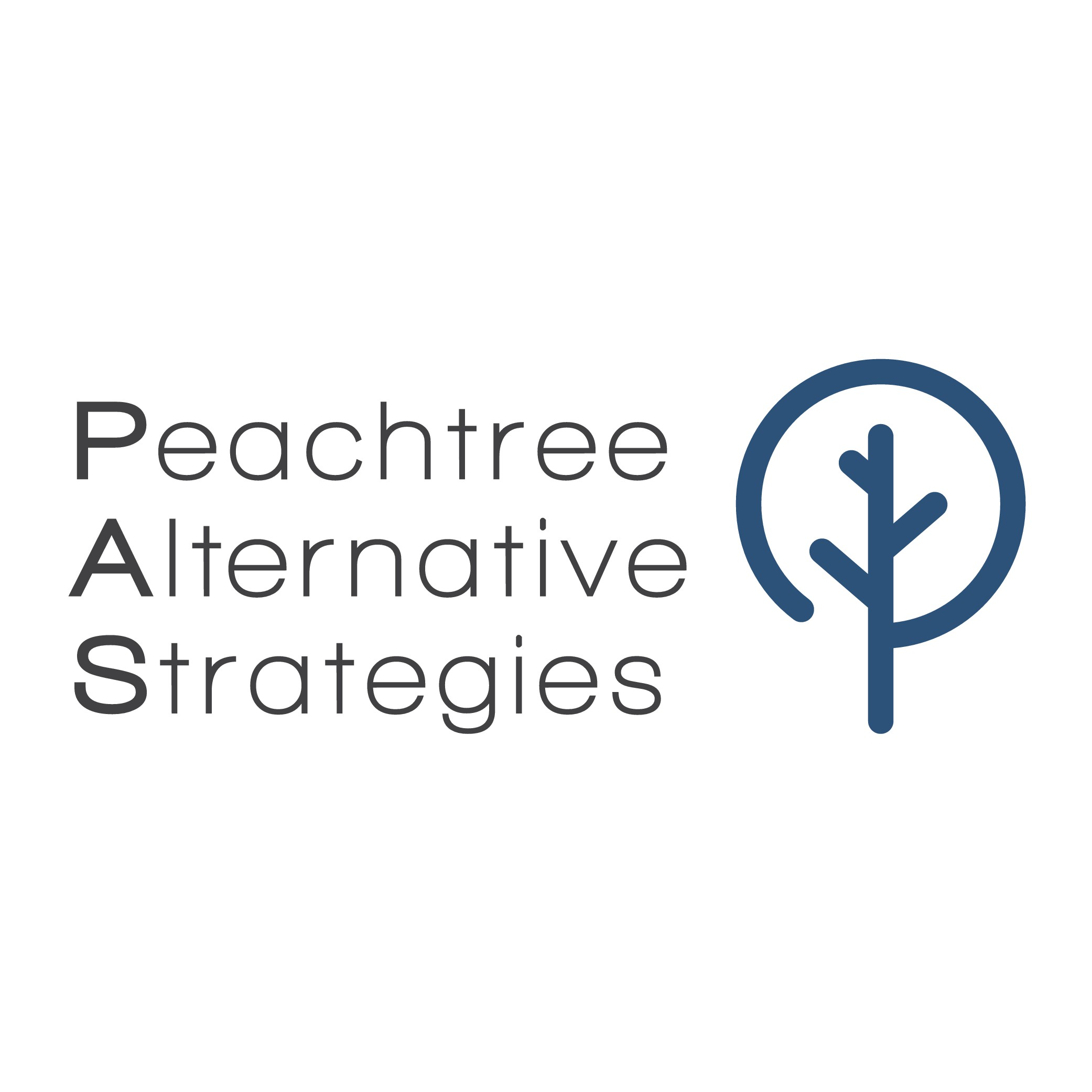 We need a sophisticated, modern logo for our investment fund, Peachtree Alternative Strategies.