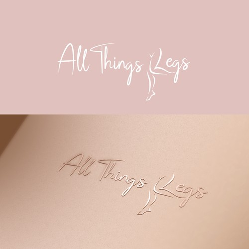 Smart logo concept for All things Legs Contest