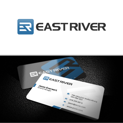 Logo & Business Card for East River