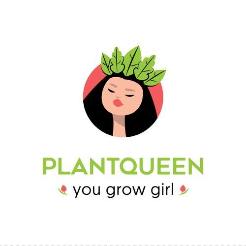 Logo design for Plantqueen