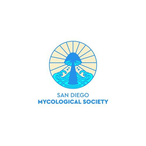Logo concept for a mycological society