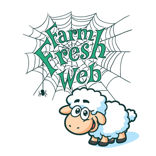 Farm Fresh Web Lamb Mascot