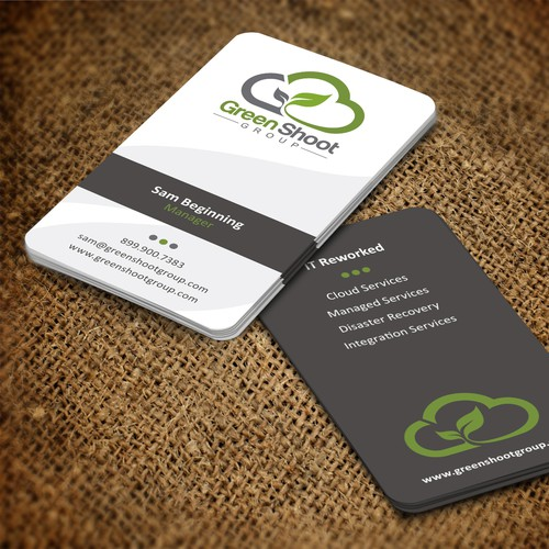 business card for Green Shoot Group