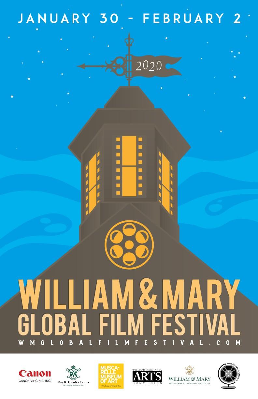 Design a striking, minimalist film festival poster