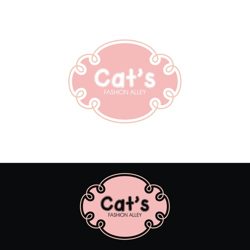 Logo for a Woman's to Little Girl's Handmade Fashion