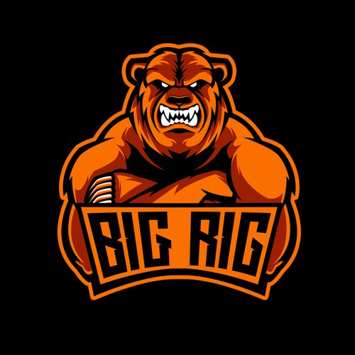 BIG RIG LOGO and Clothing Design
