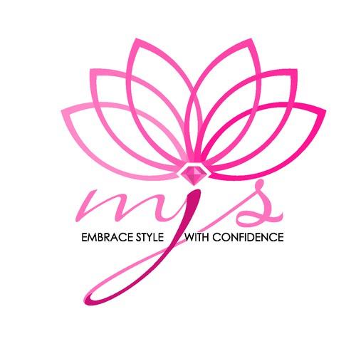 Elegant logo for MJS (My Jewelry Store)